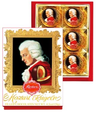 Mozart Reber Barock desszert 120gr