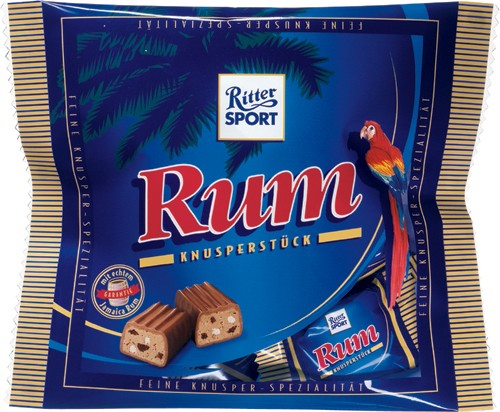 ritter sport jamaicai rumos bonbon 200gr maya chocolate. Black Bedroom Furniture Sets. Home Design Ideas
