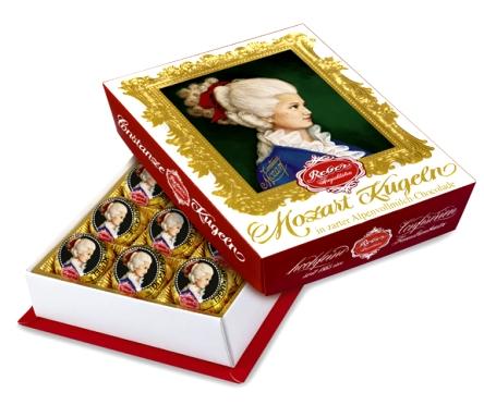Mozart Reber Constanze Barock desszert 120gr