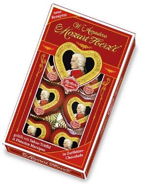 Mozart Reber étcsokoládés szívdesszert 80gr