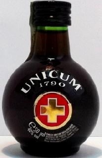 Mini Unicum alkoholos ital 0,05l