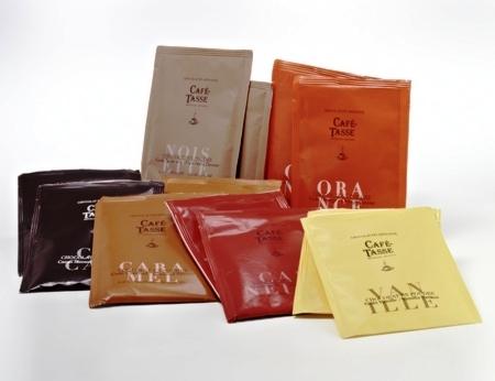 Caffé Tasse forró csokoládé- Natúr étcsokoládés 20gr