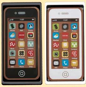 Csokoládékép - IPhone okostelefon  40gr