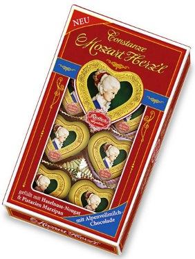 Mozart Reber Constanze szívdesszert 80gr