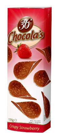 Hamlet Chocolas csokoládé chips - Eper 125gr