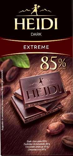 Heidi étcsokoládé - Extra ét 85% 80gr