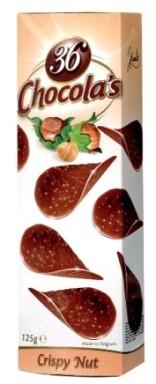 Hamlet Chocolas csokoládé chips - Mogyorós 125gr