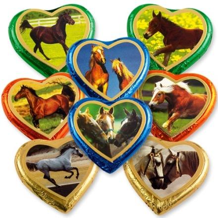 Lovas szív csokoládé 24gr