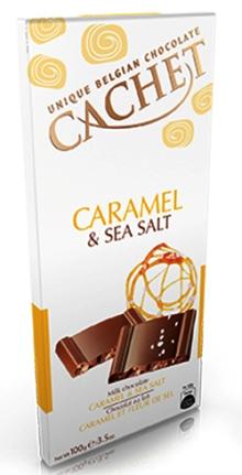 Cachet belga Special - Sós karamellás tejcsokoládé 100gr