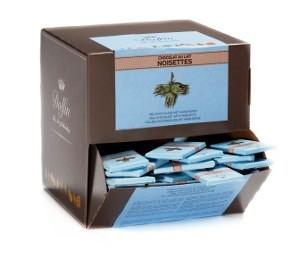 Dolfin belga mini tábla - Mogyorós tejcsokoládé 10gr