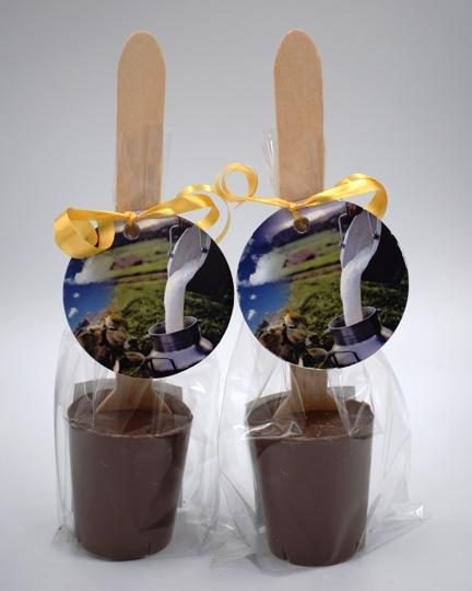 Maya Chocolate kanalas forró csokoládé - Belga tejcsokoládé 50gr
