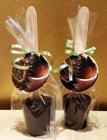 Maya Chocolate kanalas forró csokoládé - Fekete Mágia belga étcsokoládé 50gr