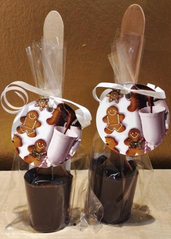 Maya Chocolate kanalas forró csokoládé - Fahéjas-mézeskalácsos tejcsokoládé 50gr