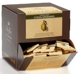 Dolfin belga mini tábla - Citromos-gyömbéres étcsokoládé 10gr
