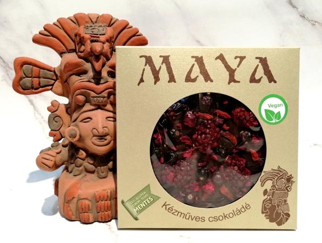 Maya Chocolate prémium Paleo cukormentes tejmentes gluténmentes csokoládé édesítőszerrel  - Gábriel Őrangyal 100gr