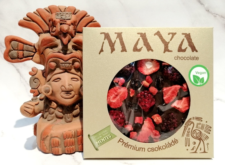 Maya Chocolate prémium Paleo cukormentes tejmentes gluténmentes csokoládé édesítőszerrel- Paleo Smile 100gr