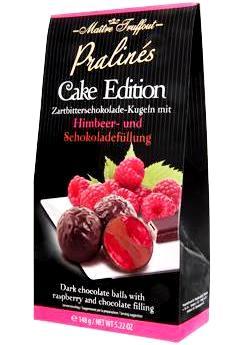 Maitre Truffout Cake Edition desszert - Málnás csokoládé 148gr
