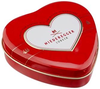 Niederegger fémdobozos marcipán szívdesszert  75gr