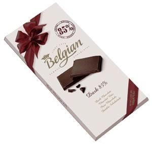 Belgian belga csokoládé - Natúr 85% étcsokoládé 100gr