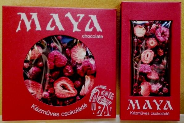 Maya Chocolate kézműves étcsokoládé - Dark Fruits 50gr