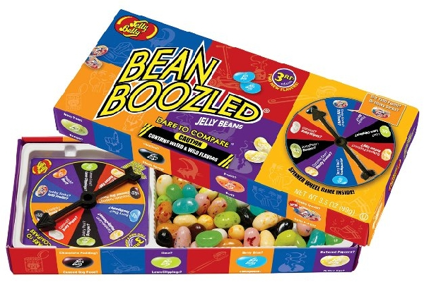 Jelly Belly - Bean Boozled Harry Potter a fura ízek játéka TÁRSASJÁTÉK 100gr