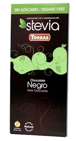 Torras spanyol PALEO cukor-tej-gluténmentes natúr étcsokoládé édesítőszerrel 100gr