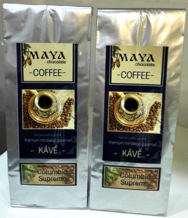 Maya Chocolate ínyenc kávé - Columbia Supremo La Ceiba 100gr