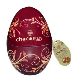 Elit fémdobozos Choco Egg húsvéti tojás 100gr