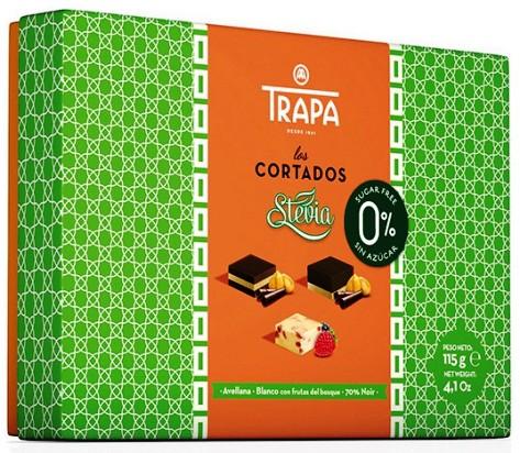 Trapa spanyol Stevia cukormentes gluténmentes elegáns desszert Los Cortados 115gr