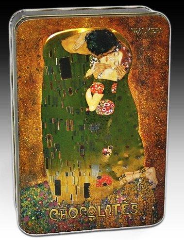 Walkers fémdobozos luxus praliné Gustav Klimt: A CSÓK 200gr