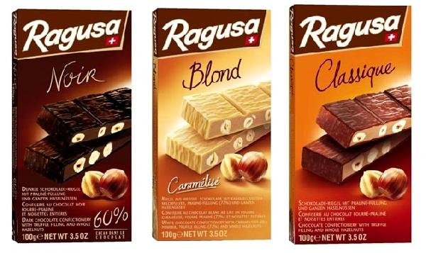 Ragusa svájci mogyoróhalom - Szőke Blonde csokoládé 100gr