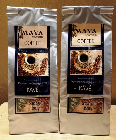 Maya Chocolate ínyenc kávé - Star of Italy 100gr