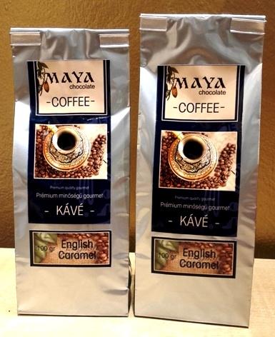 Maya Chocolate ínyenc kávé - Angol vajkaramella kávé 100gr