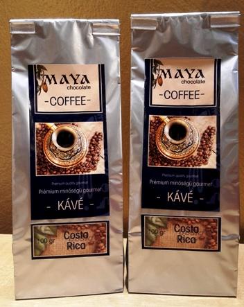 Maya Chocolate ínyenc kávé - Costa Rica Naranjo 100gr