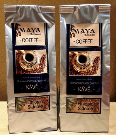 Maya Chocolate ínyenc kávé - Ethiopia Sidamo 100gr