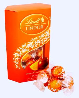 Lindt Lindor limitált desszert - Orange Lindor narancsos desszert  200gr