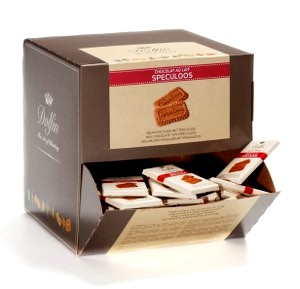 Dolfin belga mini tábla - Speculoos belga mézeskalácsos sütis tejcsokoládé 10gr