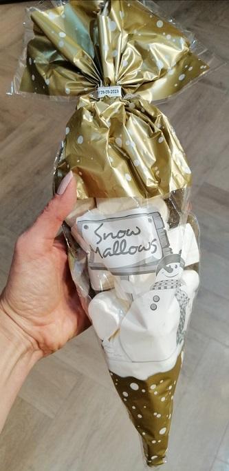 Hamlet belga karácsonyi mályvacukor tölcsér 175gr