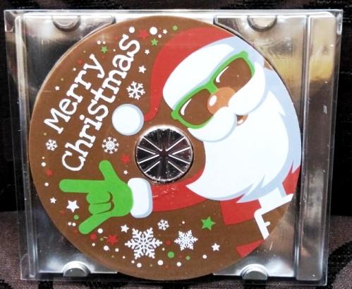 Karácsonyi csokoládékép - Karácsonyi CD csokoládé 45gr