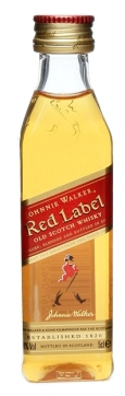 Johnnie Walker mini Red label whisky 0,05l