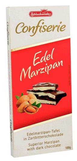 Schluckwerder marcipános étcsokoládé 100gr