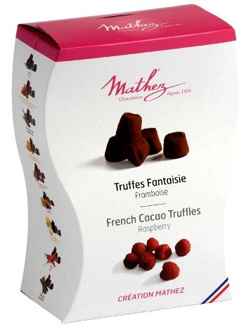 Mathez Uno francia prémium trüffel - Málnás csokoládé trüffel 250gr