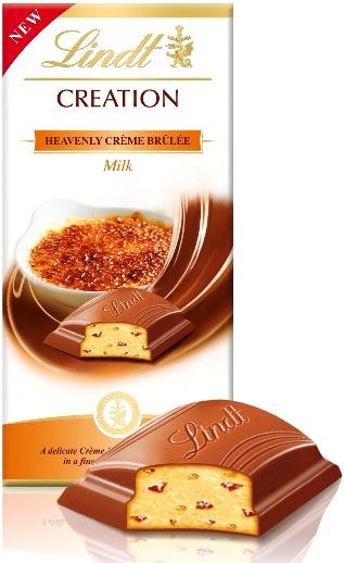 Lindt Limitált Creation - XXL Creme Brulee krémes töltött tejcsokoládé 150gr