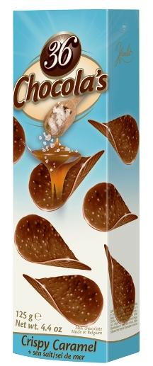 Hamlet csokoládé chips - Ínyenc tengeri sós karamella 125gr