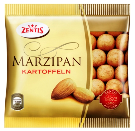 Zentis marcipánkrumpli 100gr