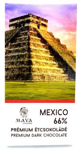 Maya Chocolate Ősi sorozat - Mexikó 66%-os területszelektált étcsokoládé 50gr