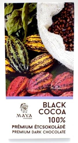 Maya Chocolate Ősi sorozat - Extra black 100%-os területszelektált étcsokoládé 50gr