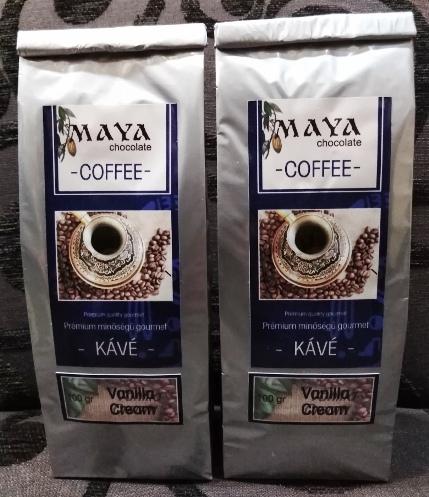 Maya Chocolate ínyenc kávé - Vanília krém 100gr