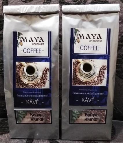 Maya Chocolate ínyenc kávé - Kenya Kincse 100gr