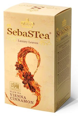 SebasTea filteres teakülönlegesség - Bécsi Fahéj fekete tea 37,5gr